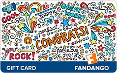 $50 Congrats Fandango Gift Card