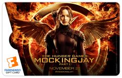$50 Hunger Games: Mockingjay Part 1 Katniss Pin Gift Card