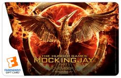 $50 Hunger Games: Mockingjay Part 1 Pin Gift Card