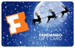 $100 Reindeer Fandango Gift Card